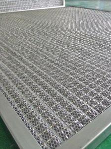 Alumínio industrial metal expandido Wire Mesh pré filtros de ar