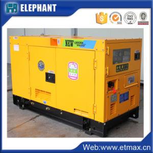 Super Stille Diesel van de Bouw Yuchai van het Type 20kVA Generator