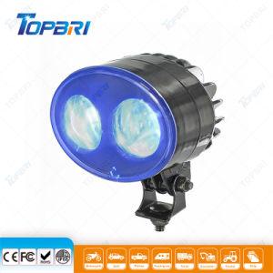 Auto LED 10W azul de la caja negra resistente al agua de la luz de la motocicleta