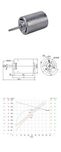 3000-12000pm 24V DC sin escobillas Motor eléctrico para acondicionadores de aire/Unidades de alimentación con PCB Conroller