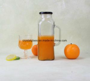 Saft-Flasche des Wasser-1000ml mit Griff und Schutzkappe