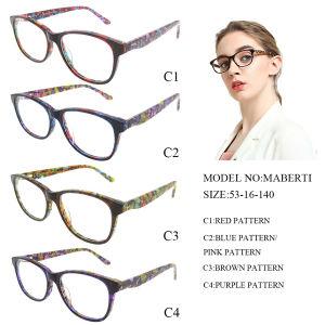 fb41ddb99 Design italiano da estrutura de óculos de acetato de moda para as mulheres