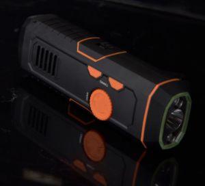 アラームが付いているマルチ力の手動クランクのランタンのAm&FMの小型ラジオ