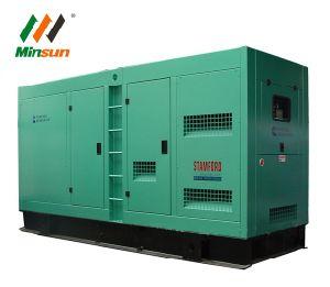 Generator-leiser Dieseltyp 375 KVA-Cummins mit schwanzlosem Drehstromgenerator Stamford