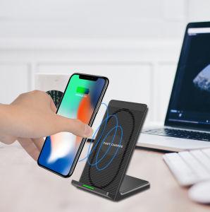 Teléfono inalámbrico de soporte de cargador de coche de 2018
