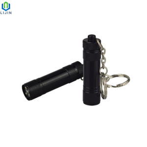 Portátil de bolso 3pequena lanterna LED com Keyring para Dom