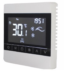 Fcu el controlador de temperatura NTC de aire acondicionado con sensor interno