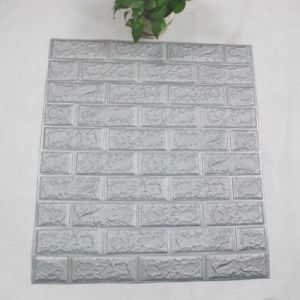 Nouveau produit XPE 3D de mousse Wallpapers mur de brique de conception 3D'autocollant
