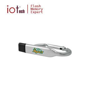 Пользовательский логотип Engrave лазера крюк пера воспоминания USB USB