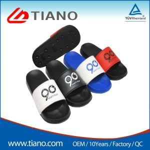 Commerce de gros Diapositive unisexe sandales PVC PU EVA Pantoufles