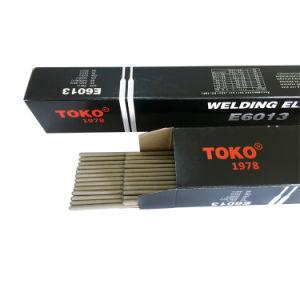 De Elektroden van het Lassen van het Structurele Staal van de Koolstof van het Merk A5.1 E6013 van Toko