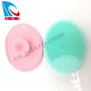 Banheira de vender novos Fashion escova macia para limpeza de rosto de silicone com Certificado da FDA