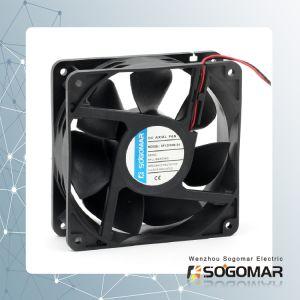 Бесщеточный двигатель постоянного тока вентилятора системы охлаждения 120X120X38мм 12-48V для компьютера