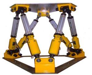 Seis Dof mesa de vibração para simulação de ambiente mecânico