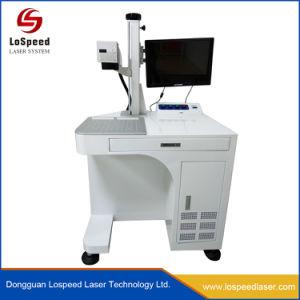 Laser die Machine voor Laptop Systeem van de Laser van de Vezel van het Embleem van het Geval het Brandmerkende merken
