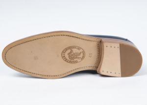 De Cuero auténtico clásico Mens Zapatos de negocios