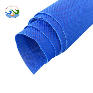 Materie prime del tessuto di 100% pp Spunbonded del sacco non tessuto del Rolls