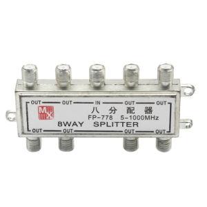 5-1000MHz 8 divisore dell'interno di modo CATV