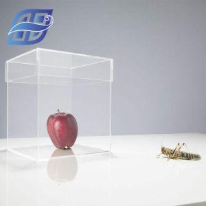 卸し売り風防ガラスの花の表示ゆとりのアクリルのローズボックス