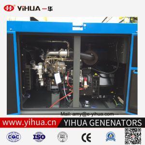 Isuzuエンジン4jb1を搭載する20kw防音のディーゼル発電機