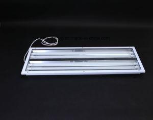De aluminium Opgeschorte Lamp van het Traliewerk van de Stijl met LEIDENE Buis Xtyg-4*36W-S