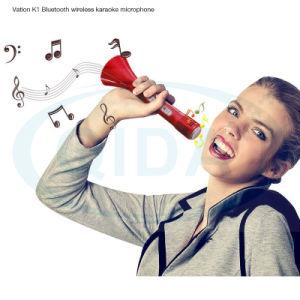 Верхняя продажа караоке плеер K068 пение вентиляторы выбор беспроводной микрофон