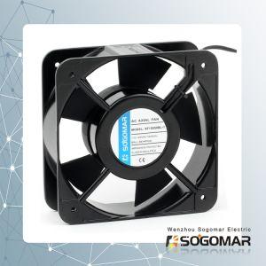 Ventilateur de refroidissement 6 pouce carré pour carte de commande de roulement à billes