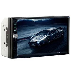 Ecrã táctil de alta definição de 7 polegadas USB/SD/FM/AUX/ISO/MP5 Rádio áudio do carro com controle remoto