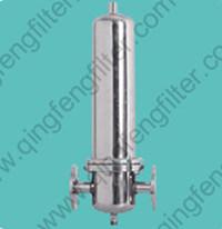 OEM do alojamento do filtro de gás de aço inoxidável para produtos farmacêuticos e químicos