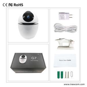 Sans fil pris en charge de batterie Smart Home Security 1080P Caméra IP WiFi avec le suivi automatique de 360 degrés