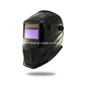 自動暗くなる溶接のヘルメット(WH7711黒)