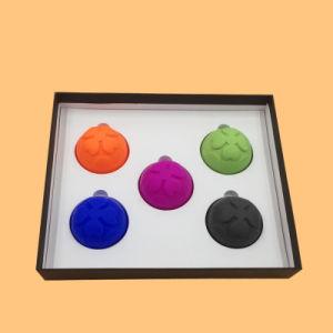DIY Home terapia de masaje Catación de silicona de embalaje personalizadas tazas