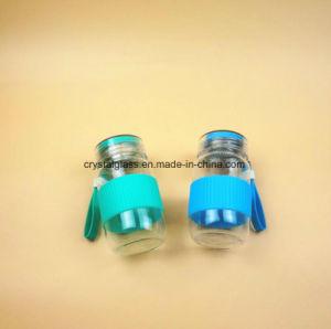 Design personalizado Grau Alimentício Garrafas de água de vidro