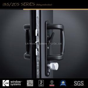 Norma DA UE pesada porta corrediça de alumínio com isolamento de som excelente