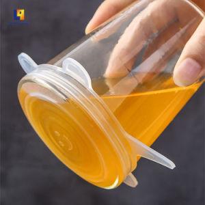 Accessoires de cuisine personnalisé de conteneurs en plastique de ménage Couverture douce en silicone