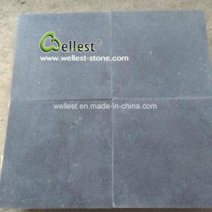 De geslepen Zwarte Tegels van het Kalksteen met tuimelen Rand