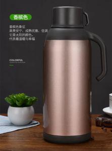 1900mlガラスはさみ金のThermosの真空の水差しのコーヒー鍋の茶フラスコ