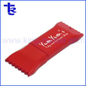 Печать логотипа без конфеты колесико с накаткой USB Flash Driver Model