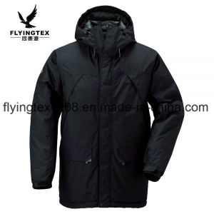 Мужчин Зимняя куртка вниз покрыть Outerwear водонепроницаемый ветровку лыжную куртру