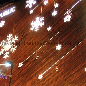 Decorazione chiara di nuovo anno degli indicatori luminosi dei fiocchi di neve del LED Halloween