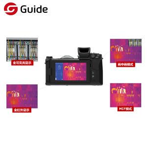 ガイドC640の携帯用高リゾリューションIRのThermographicカメラ、赤外線熱探知カメラ、IRの解像度640*480および明るい5  LCDのタッチスクリーンが付いている熱カメラ