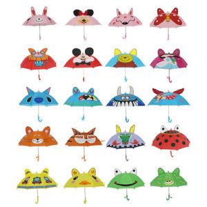 カスタム昇進の広告のRainproof 3Dは動物の耳を搭載する傘をからかう