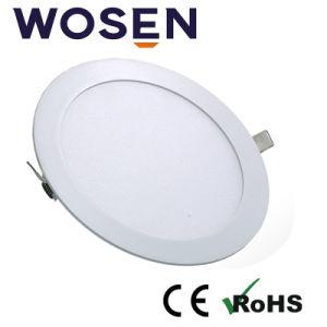 15W ultracompacto de forma redonda de la luz de panel LED