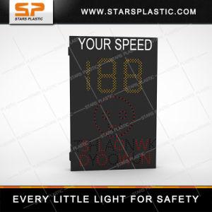 Dispositivo indicador de velocidad de la seguridad del tráfico