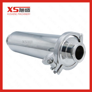 SS304 SS316L Filtros Reta higiénica de Aço Inoxidável