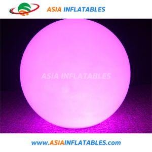 Ballon Throwed changé de couleur de lumière pour concert vocal