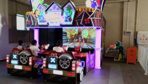 Terra de Zumbi de vídeo 3D Pistola Laser playground coberto filmagem Pai-filho familiares máquina de jogos