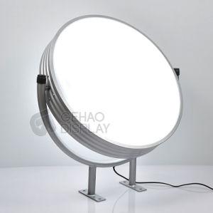 Vacío exterior LED pantalla acrílica