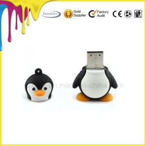 Пользовательские карты памяти USB из ПВХ, пользовательские формы пингвинов USB