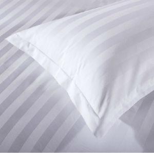ホテルのためにセットされる100%年の綿の白い高品質ファブリックベッド